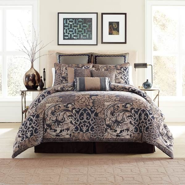 Croscill Ryland Blue Bedding   The Home Decorating Company Has The Best  Sales U0026 Prices On