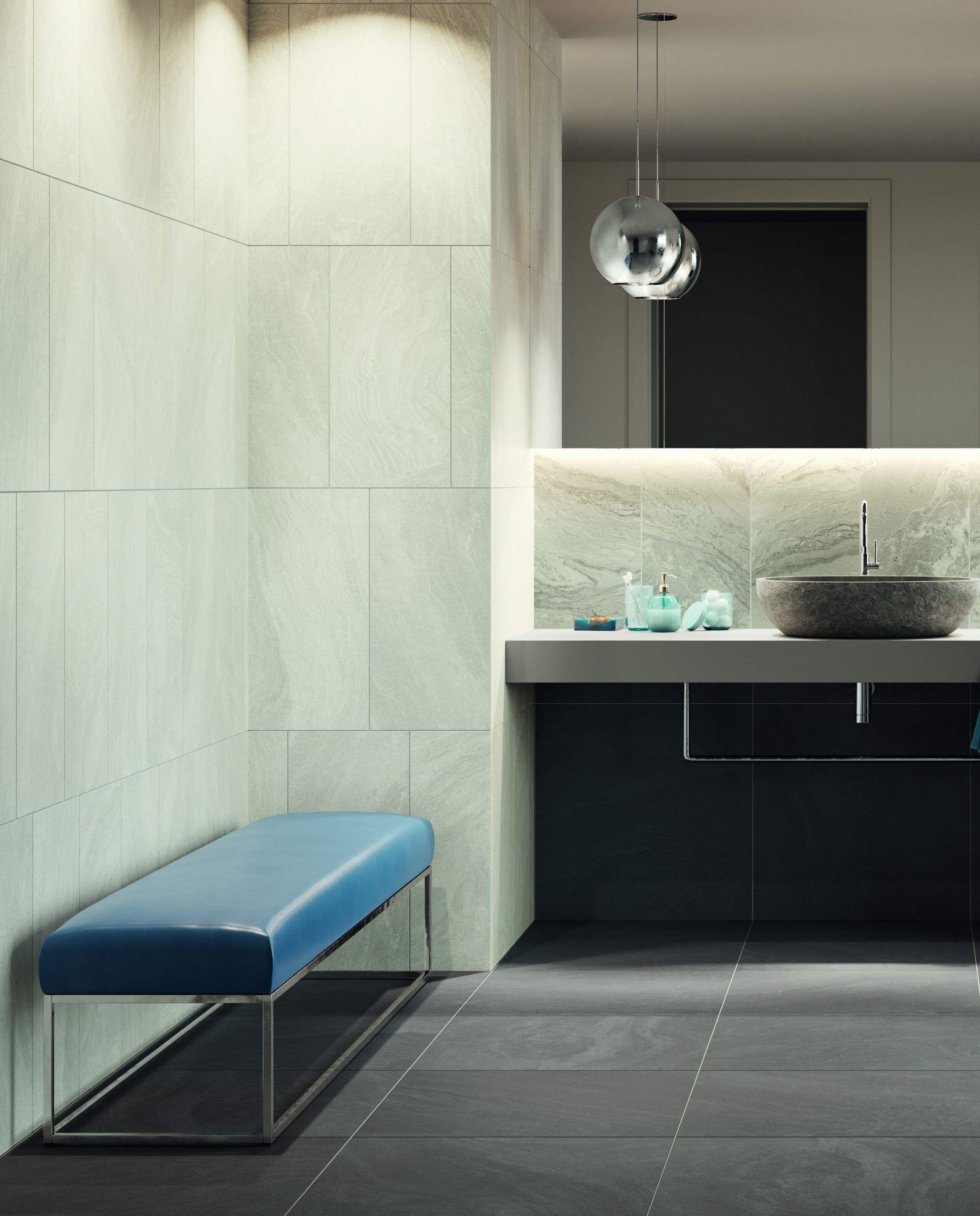 Badideen Fliesen Hochkant Verlegt Badezimmereinrichtung Badezimmer Innenausstattung Badezimmerideen