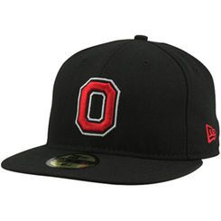 3700adc30 New Era Ohio State Buckeyes 59FIFTY Fitted Hat - Black-- | alphabet ...