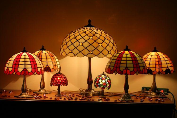 Tiffany Lamps   Art Nouveau Glass Art