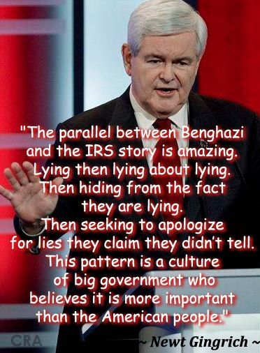 Newt Gingrich quote Big government, Newt gingrich