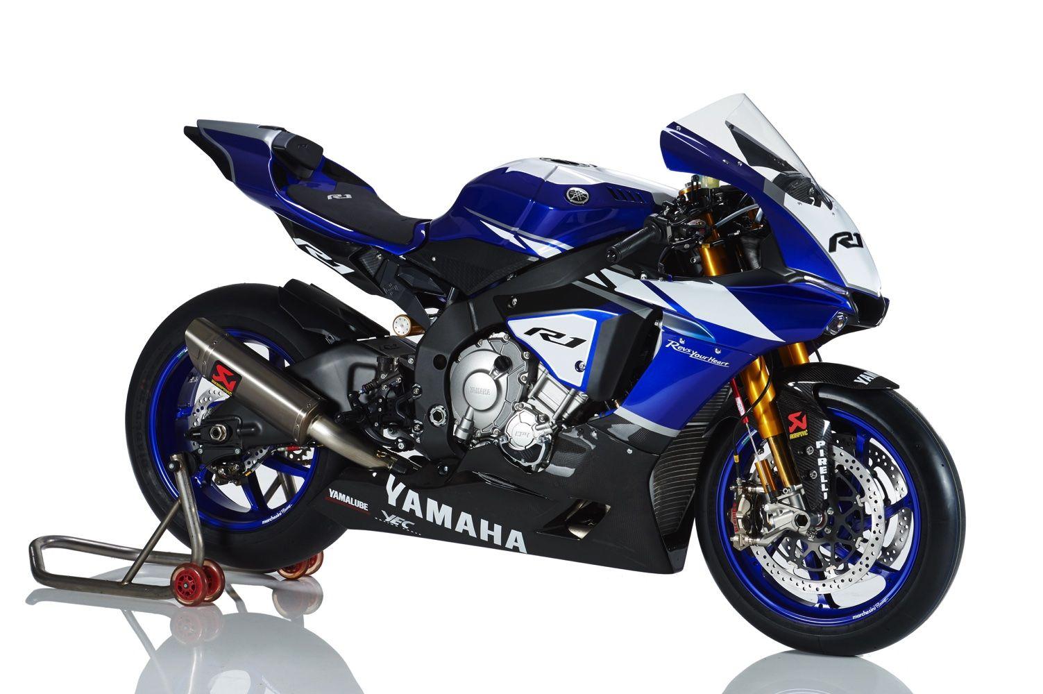 2015 Yamaha R1 Factory Akrapovic Exhaust