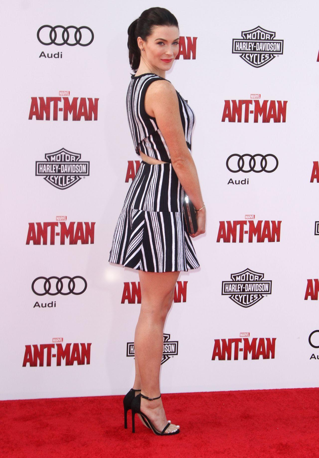 Bridget Regan Legs Bridget Regan Marvels Ant Man Premiere In Hollywood