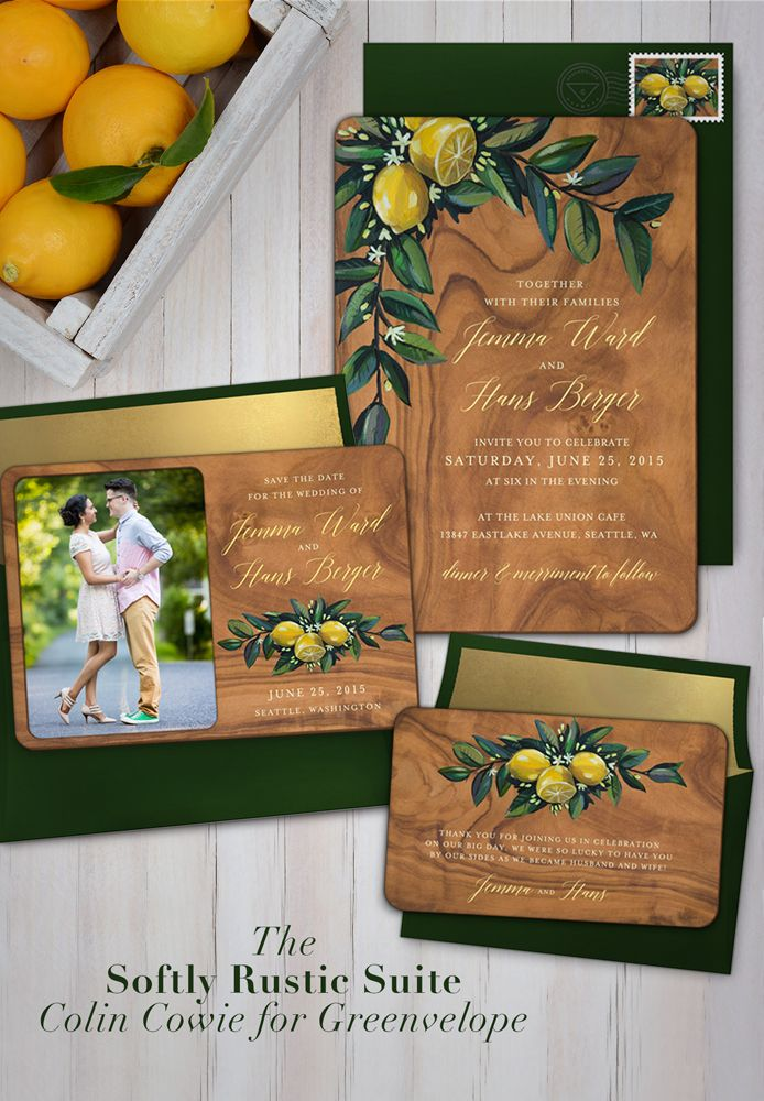 Colin cowie rustic wedding stationery weddings and for Electronic destination wedding invitations