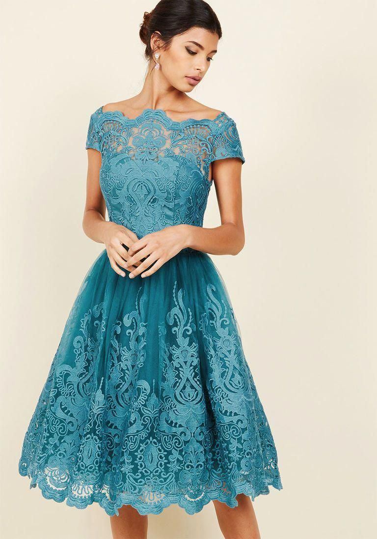 Vintage Inspired Cocktail Dresses Party Dresses Lace Dress In Lake Blue Teal Turquoise Wedding Lace Dress Vintage Trendy Party Dresses Vintage Style Dresses