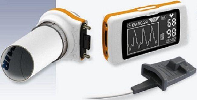 MIR Spirodoc Oxi Diagnostic Spirometer 3D Bluetooth Enabled