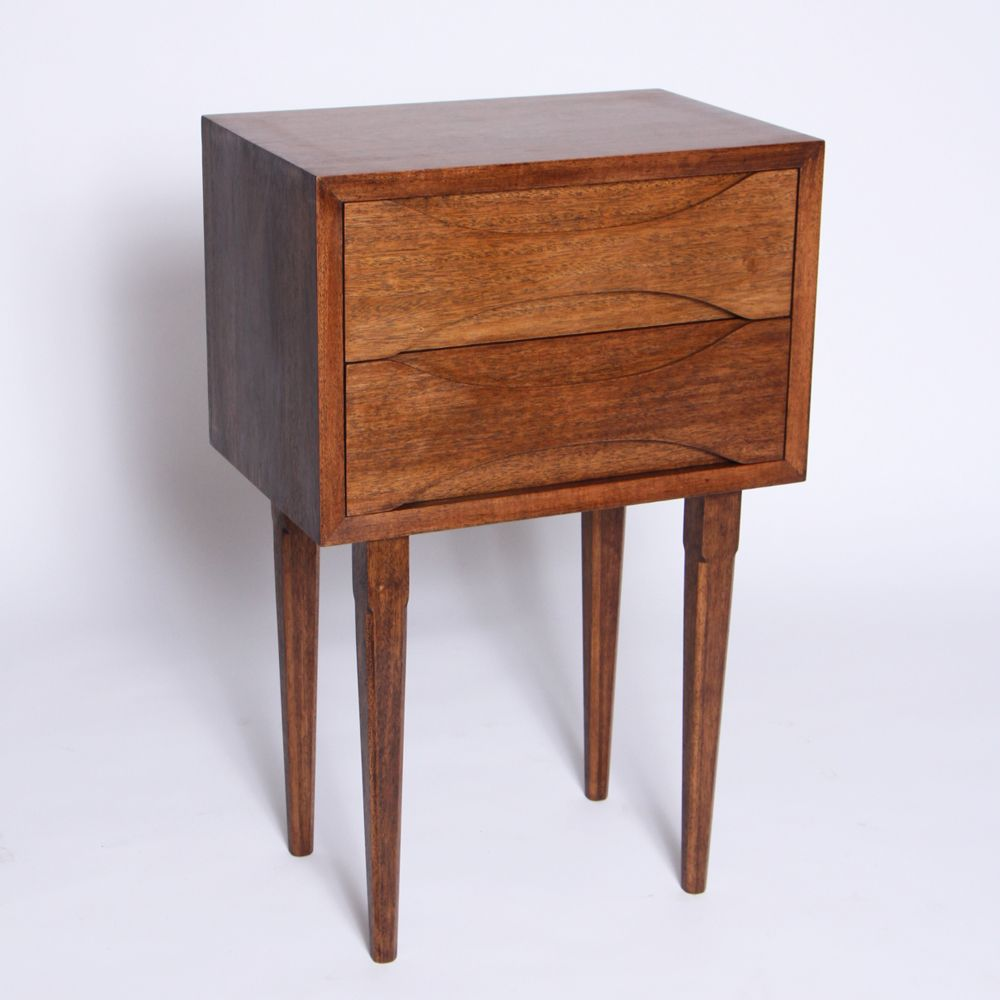 Best Midcentury Bedside Table Mahogany Authentic Furniture 400 x 300