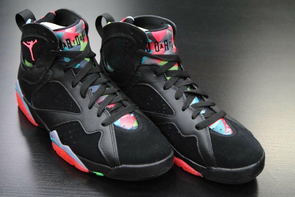 705350 007 New Men S Air Jordan 7 Retro 30th Barcelona Nights Black Jo931 Fashion Clothing Shoes Accessories Mensshoes Athletic Shoes Air Jordans Shoes
