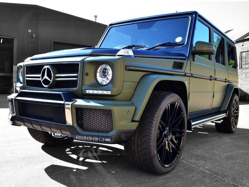 G63 Amg Matte Green Mercedes Mercedes G Wagon Mercedes G