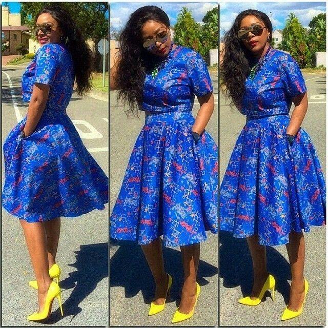 Top Ten Beautiful Ankara Dress Styles To Rock 2016 Dabonke Beautiful Ankara Style Pinterest