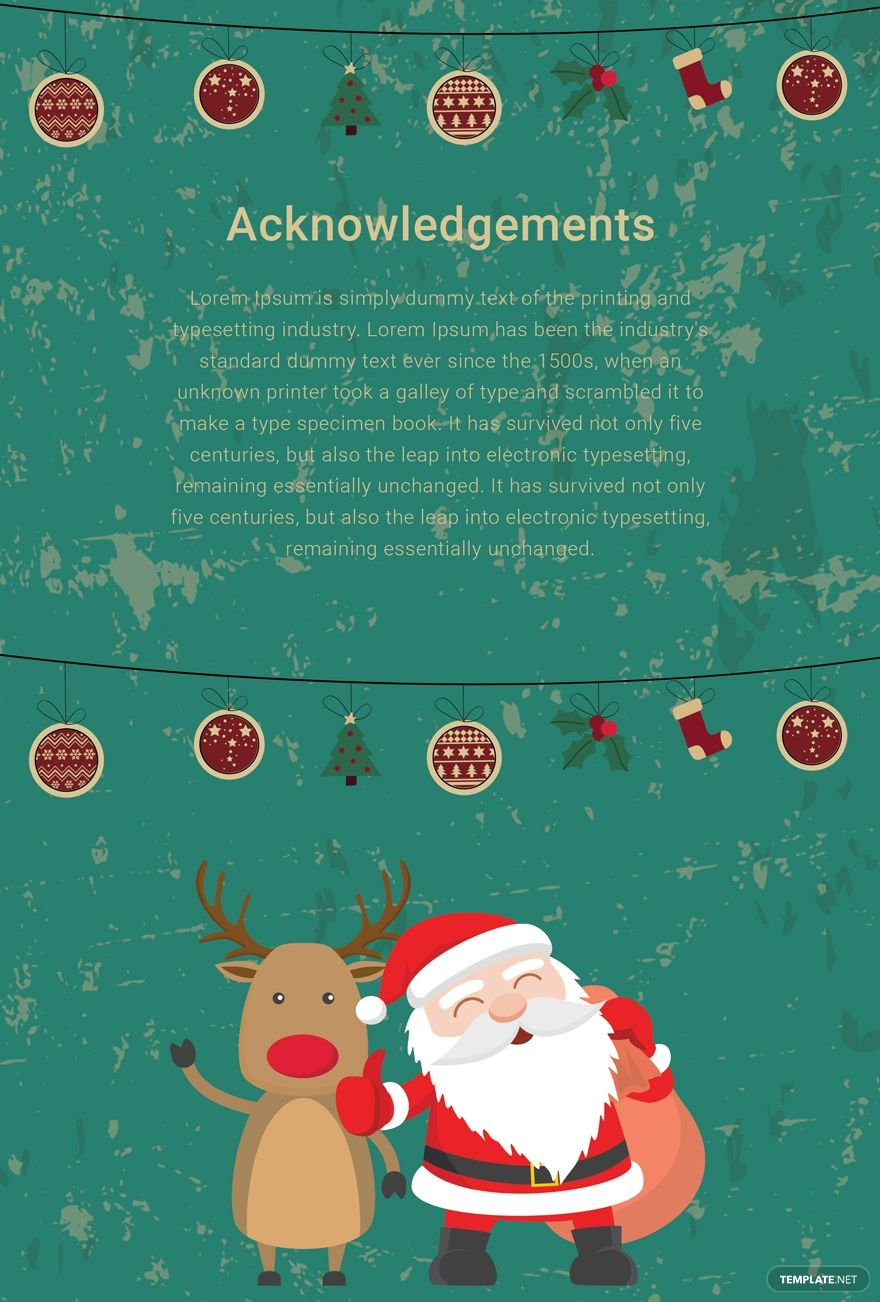 Elegant Christmas Thank You Card Template Free Pdf Word Psd Apple Pages Publisher Thank You Card Template Card Templates Free Card Templates
