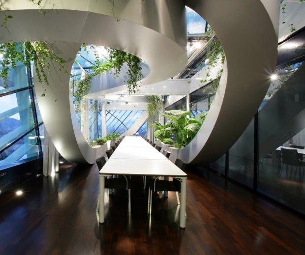Engineering Office Design: Incredible Biophilic Offices That Would Inspire Us All To