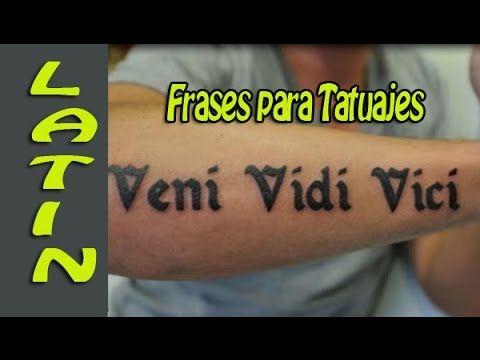 frases para tatuajes en latin