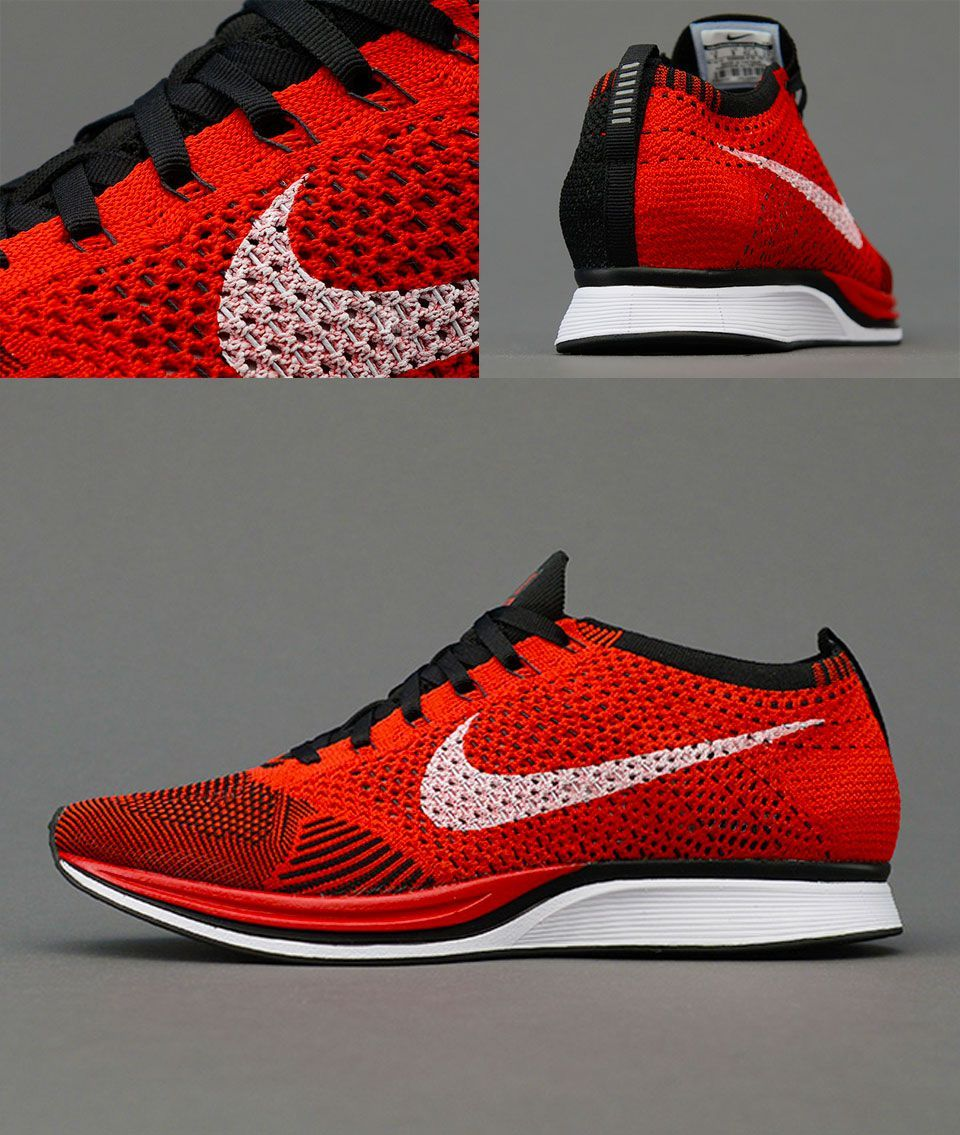 save off 7ae47 f3fea Nike Flyknit Racer Red Black hypespec.com .