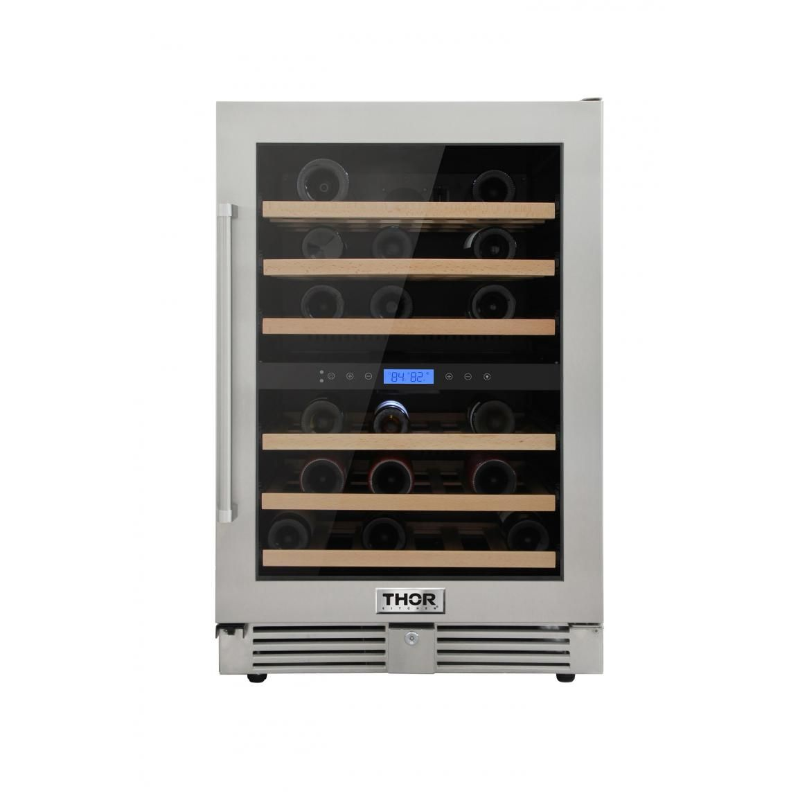 Dual Zone Wine Cooler 24 Inch Twc2401do With Images Dual Zone Wine Cooler Built In Wine Refrigerator Wine Cooler