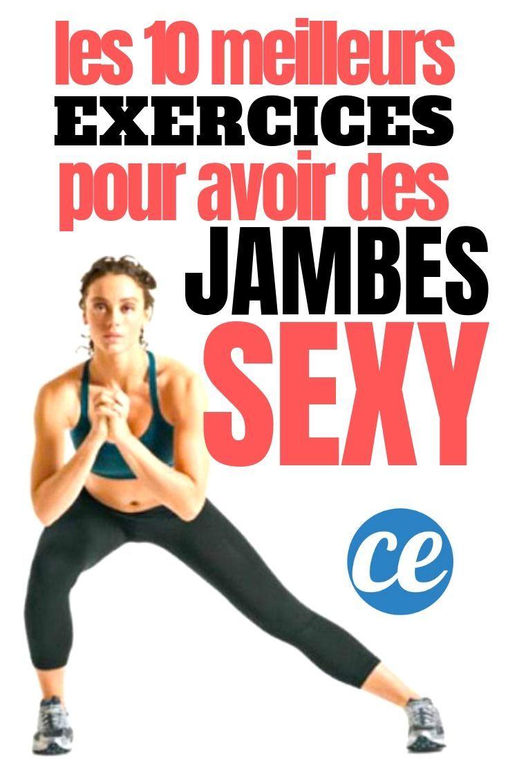 De Belles Jambes Fines Et Musclées En Seulement 30 Min