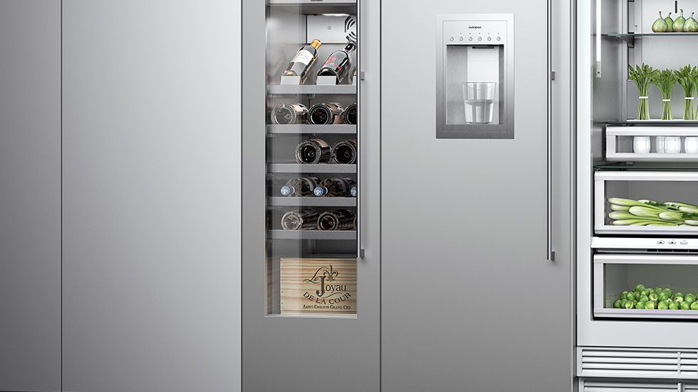 rc 472 rc 462 refrigerator column from improve canada vendor gaggenau. Black Bedroom Furniture Sets. Home Design Ideas