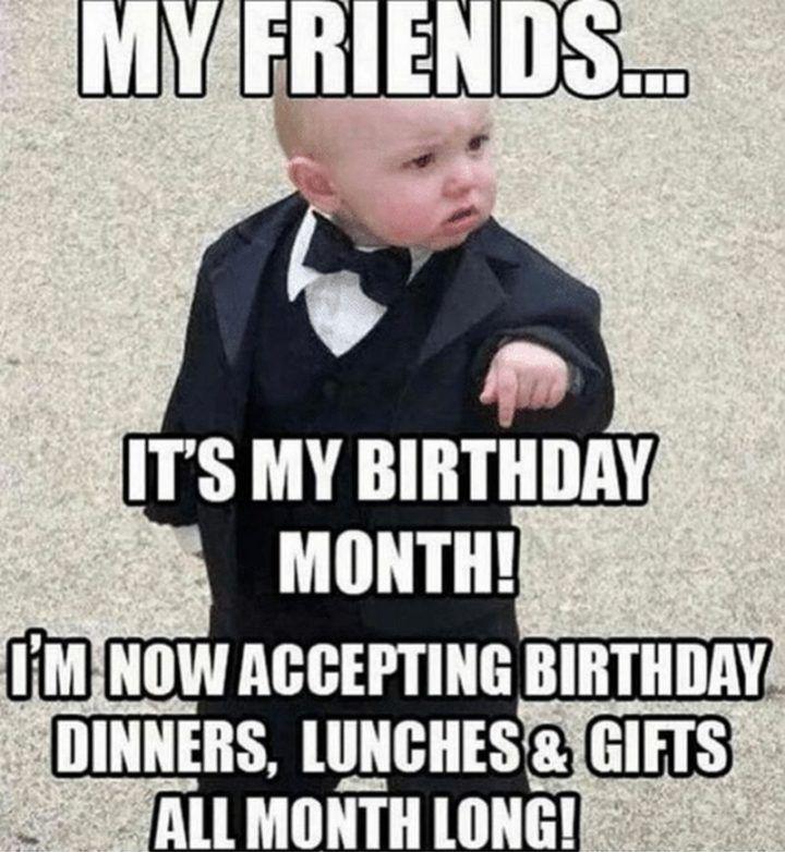 101 It's My Birthday Memes to Share Your Birthday Excitement #birthdaymonth