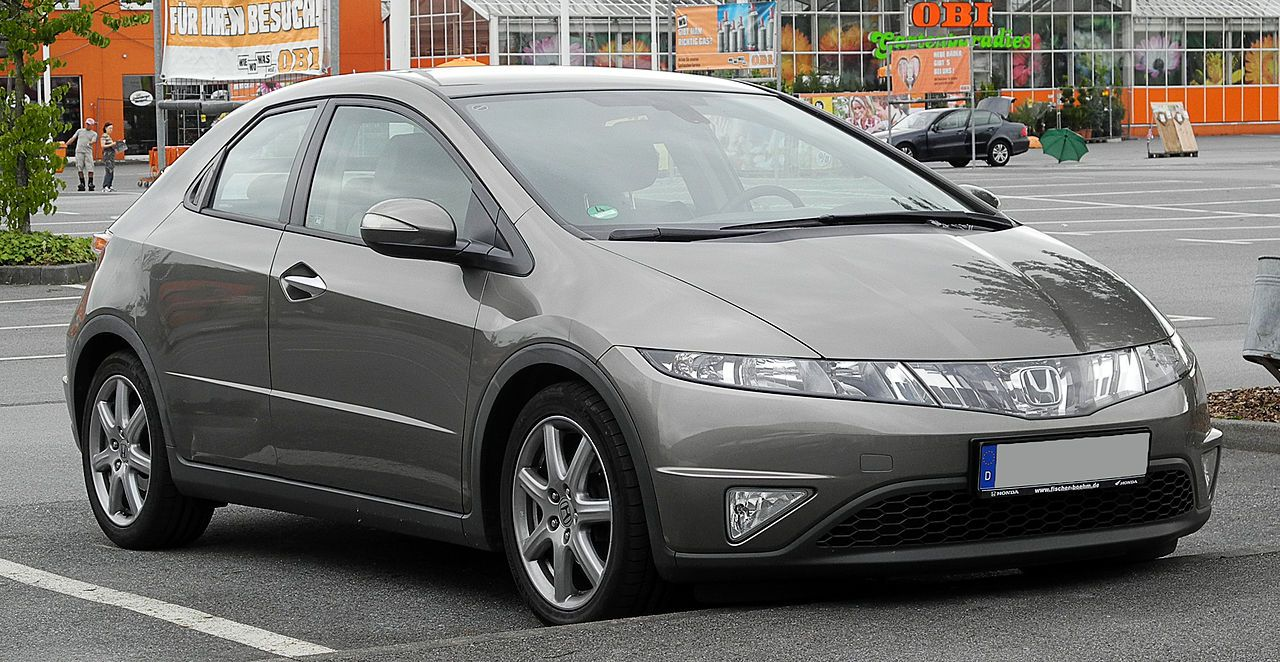 From Wikiwand Honda Civic 8 Generation