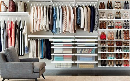 Container Store Closet System Best Selling Solutions  Wai Kon Tse Residence_Living Room And