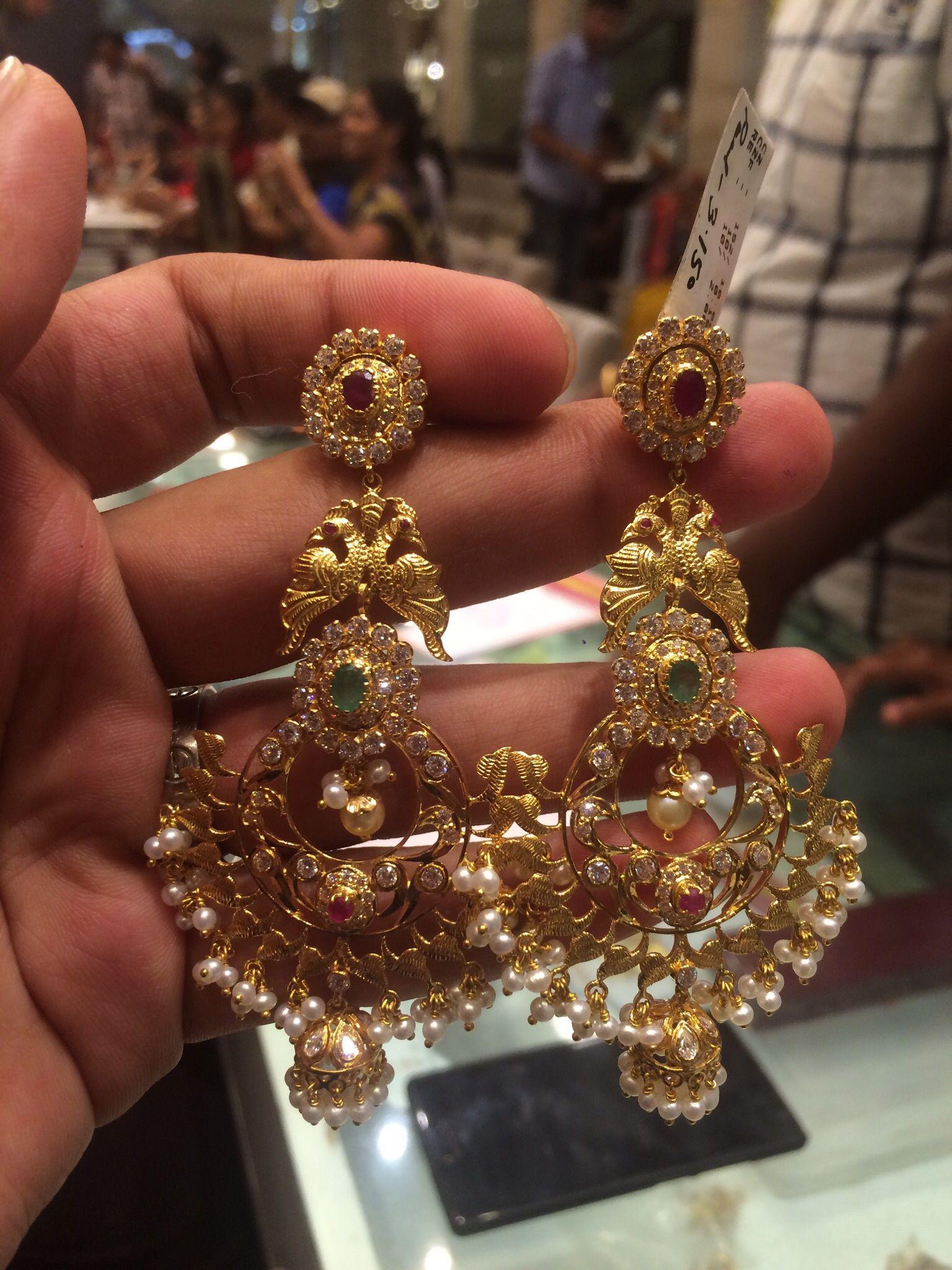 35 Grms Chandbalies Rajputi Jewellery Stylish Jewelry Wedding
