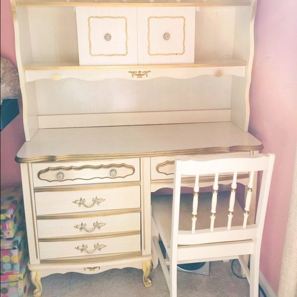 French Provincial Vintage Furniture Bedroom Set This Is An Ivory Gold  Gorgeous Vintage Looking French Provincial