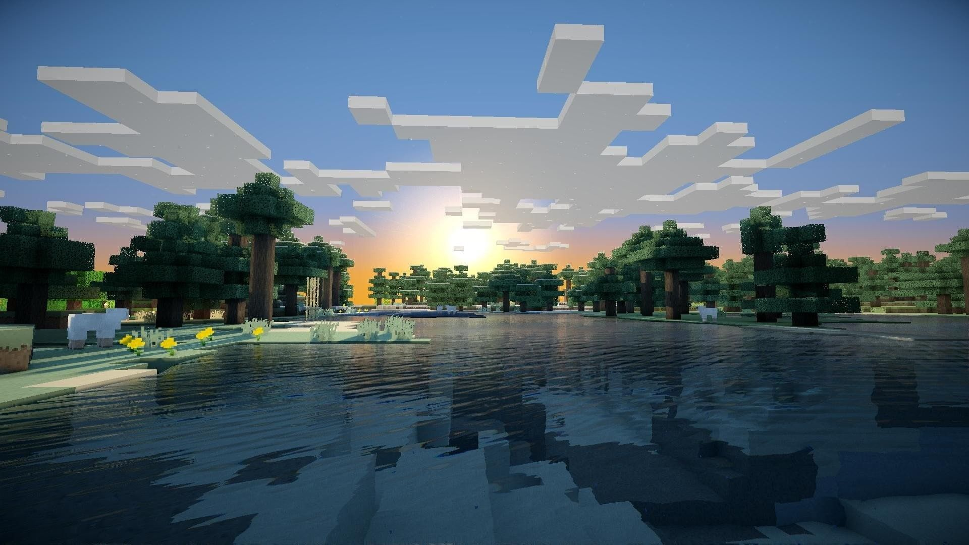 Minecraft Widescreen Retina Imac 1080p Wallpaper Hdwallpaper Desktop Minecraft Wallpaper Aesthetic Wallpapers Minecraft Pictures