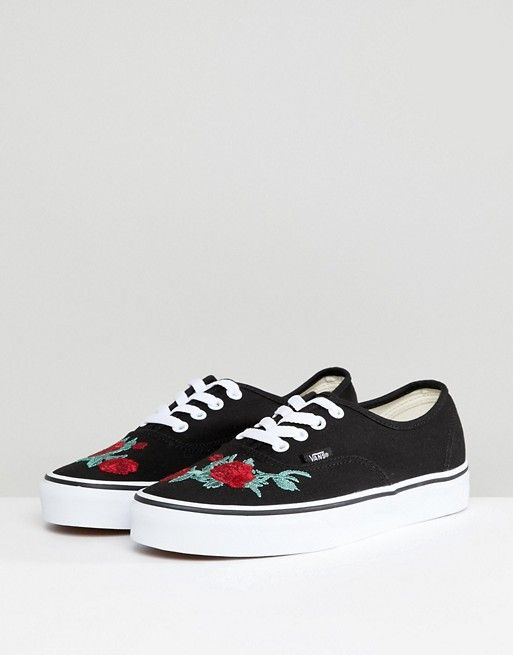 buy cheap best prices Vans Authentic Trainers With Floral Embroidery big sale cheap sale largest supplier clearance visa payment Wak1IK