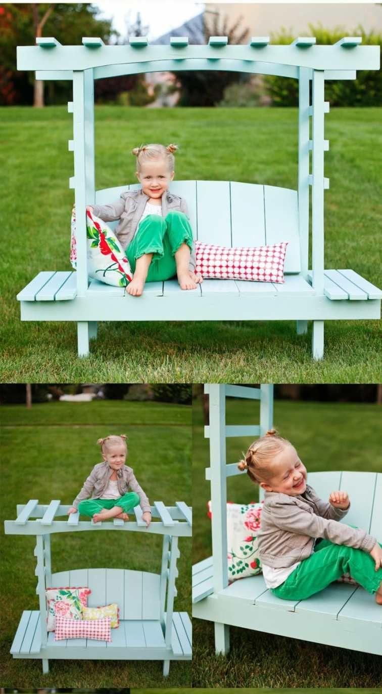 aire de jeux pour enfant balançoires et équipements diy