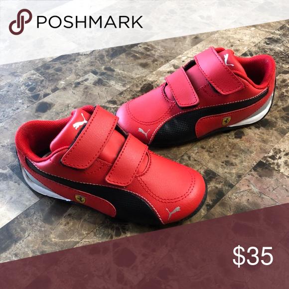 Puma Ferrari Toddler Boys Shoes Toddler Boy Shoes Boys Shoes Pumas Shoes