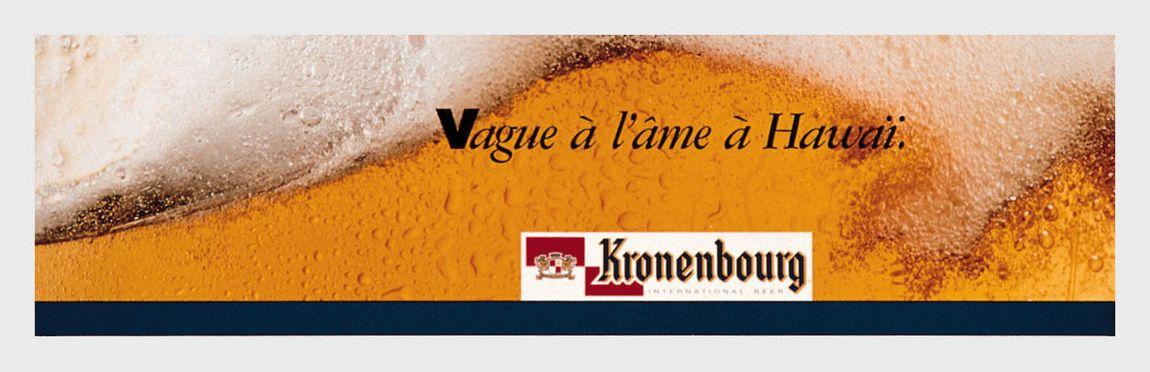 Read more: https://www.luerzersarchive.com/en/magazine/print-detail/kronenbourg-122.html Kronenbourg Weltschmerz in Hawaii. Tags: Young & Rubicam (Y&R), Brussels,Francoise Lerusse,Willi Coppens,Kronenbourg