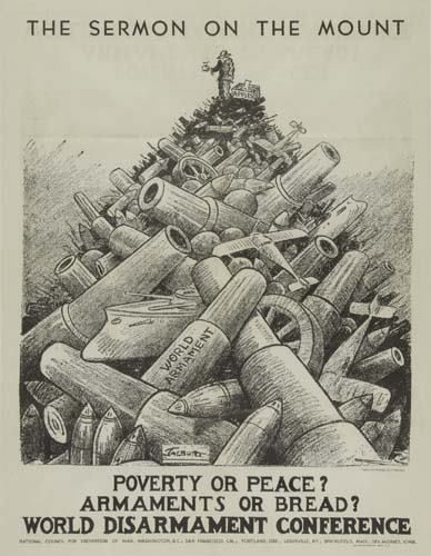nuclear disarmament RALLY POSTER USA 1979 24X36 peace sign BROKEN MISSILE