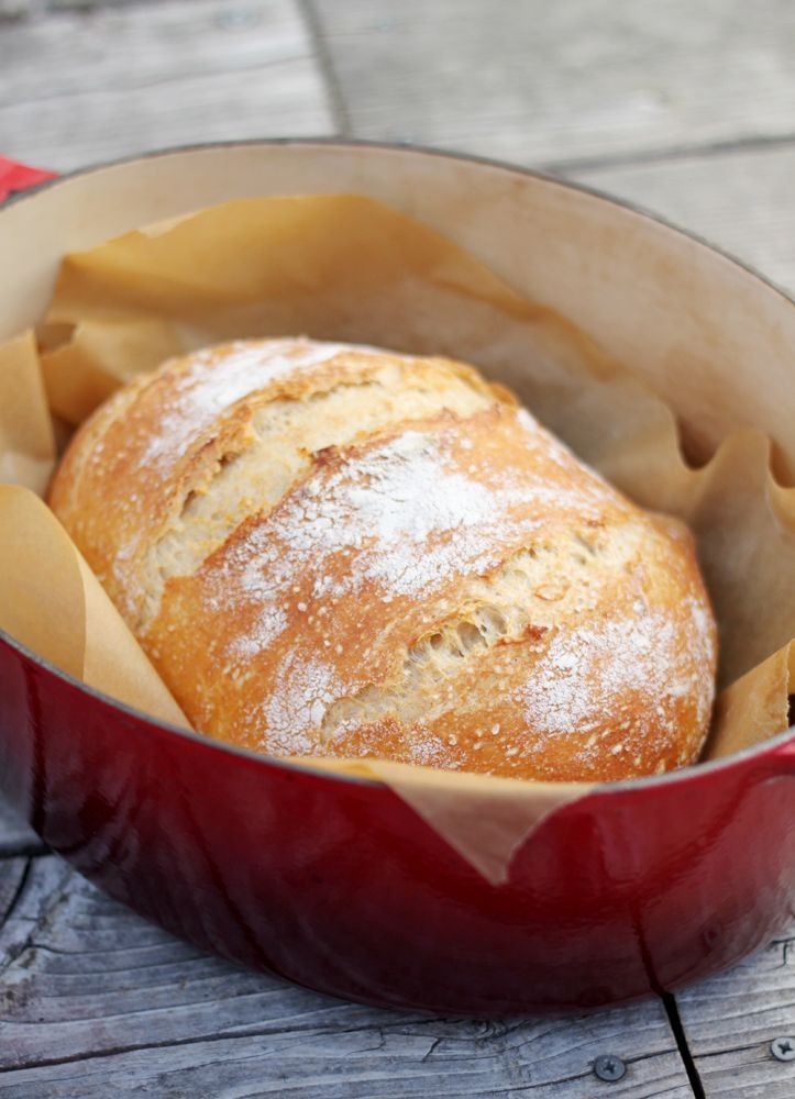 Super Simple Homemade Bread Bread Loaf Round Easy Bread