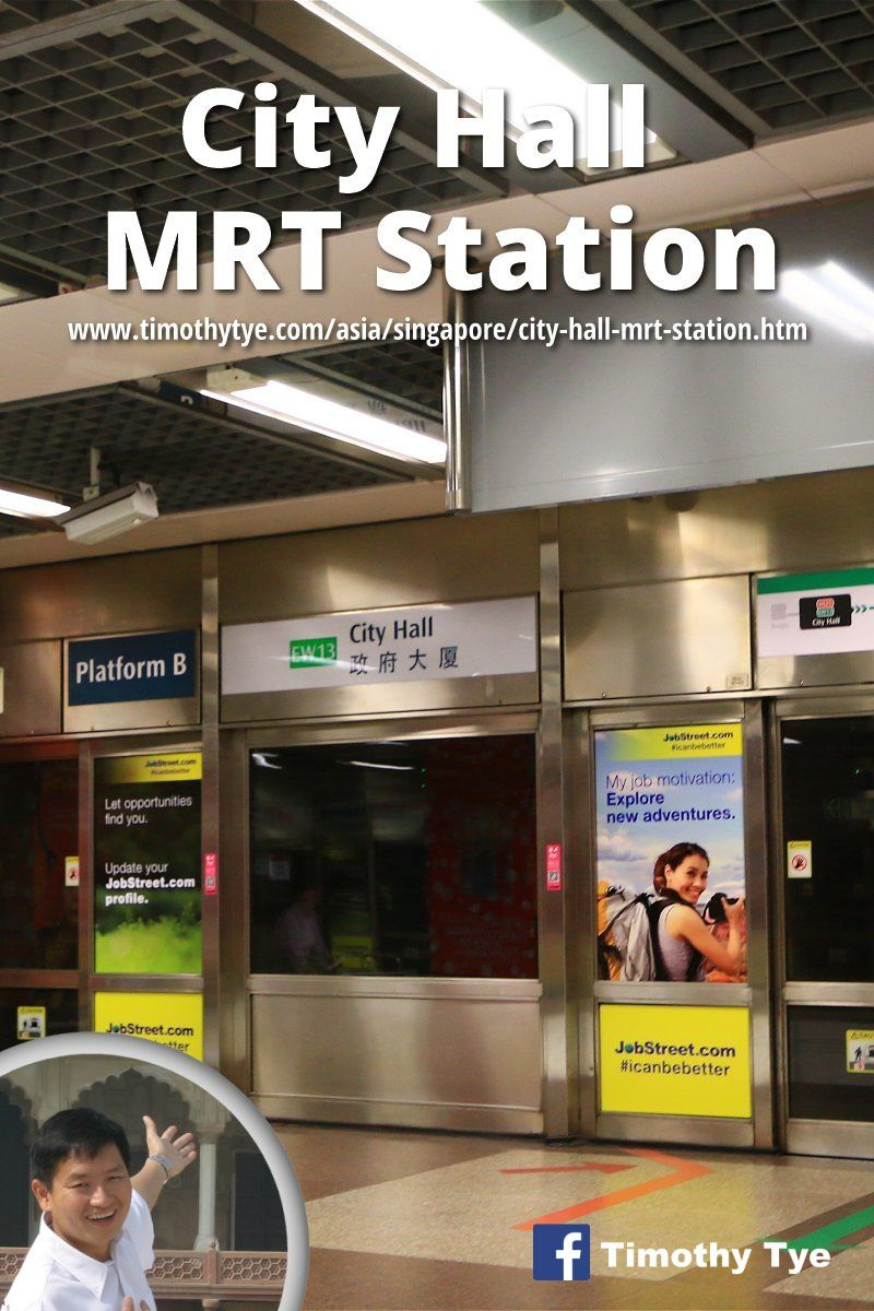 City Hall Mrt Station Ew13 Ns25 City Hall City Station