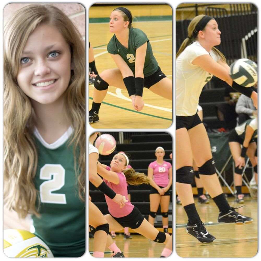 2 Caitlin Brocker 5 5 Fr Ds L Chicago Il Volleyball Team Tournaments Teams
