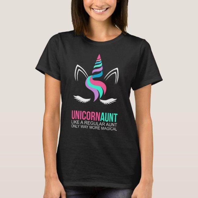UNICORN AUNT T-Shirt   Zazzle.com