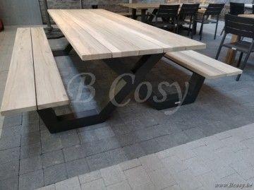 Gescova azur bonucci picknick tafel bank picknicktafel picknickbank