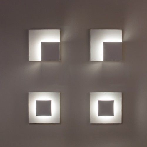 Center Eclipse Led Wall Sconce Led Wall Sconce Wall Sconces Wall
