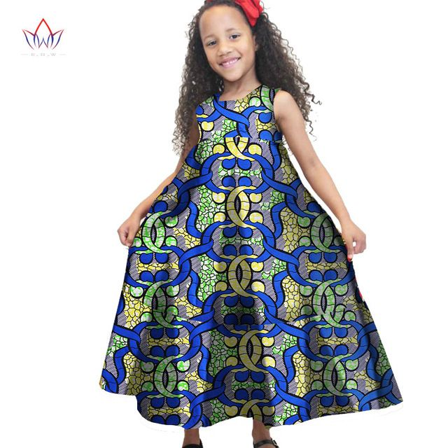 fbf88d0041 2017 African Women Clothing kids dashiki Traditional cotton Dresses  Matching Africa Print Dresses Children Spring BRW WYT48