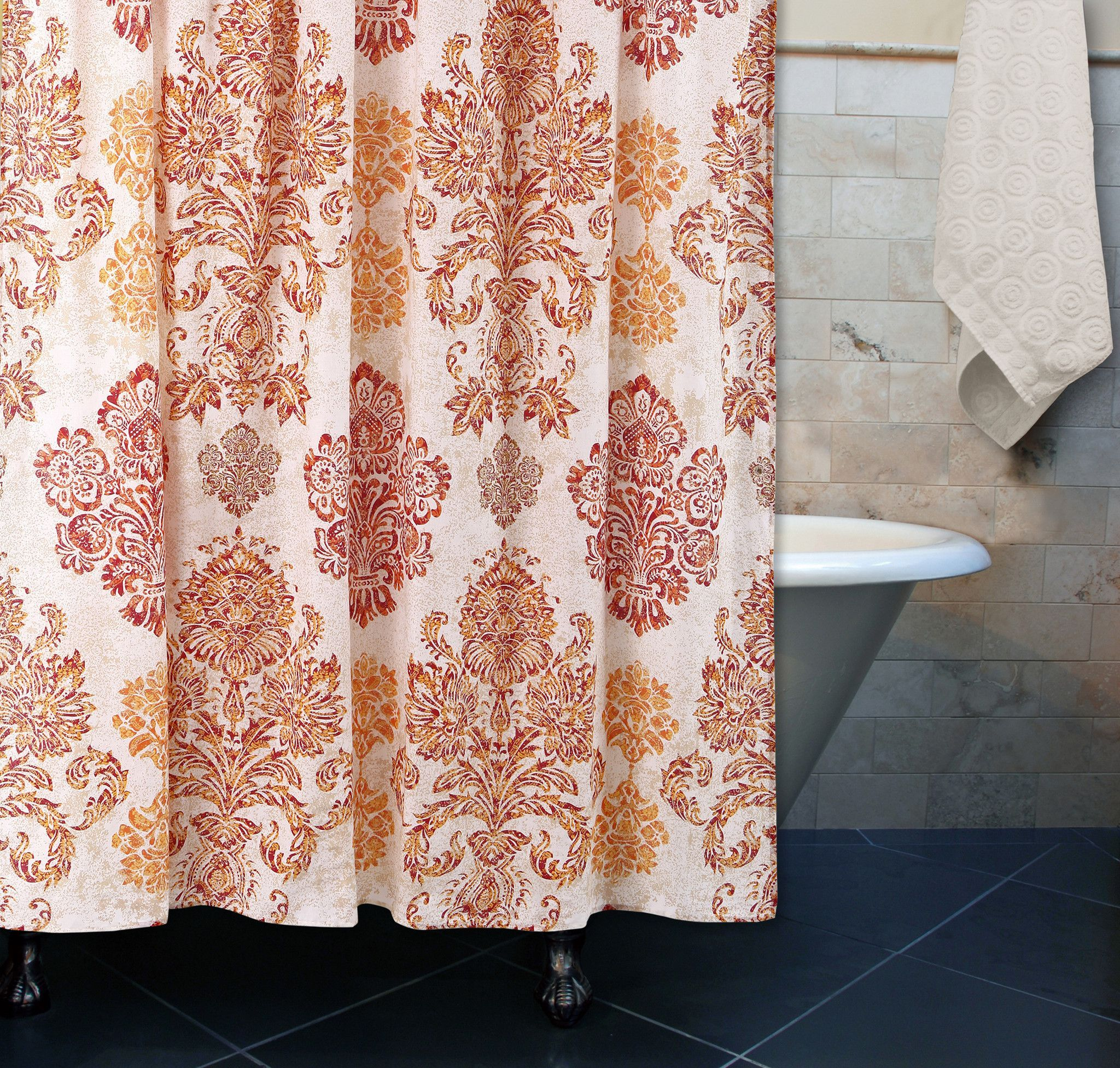 Greenland Tuscany Multi Shower Curtain 72 x 72 | Products ...