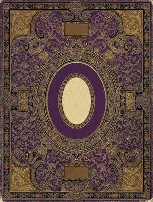 ~ Free Ornate Book Cover Printables ~