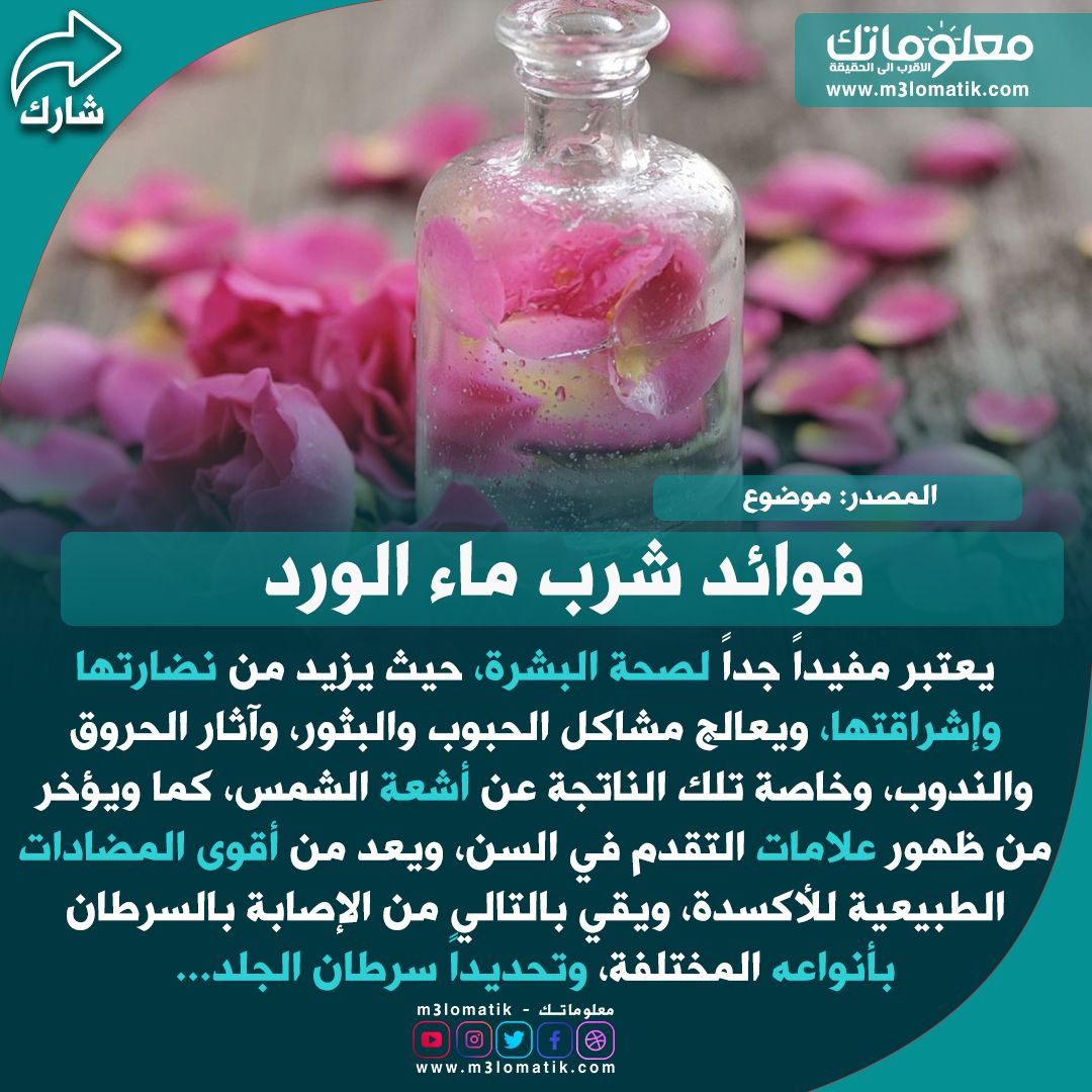 فوائد شرب ماء الورد Healthy Smoothies Smoothies Soap Bottle