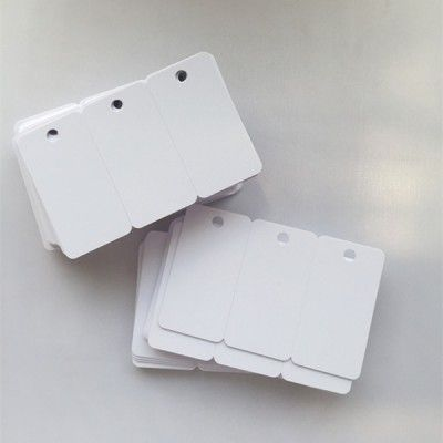 Pin On Blank Inkjet Pvc Card