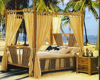 Tropical Bedroom Furniture | Ideas-for-tropical-bedroom-with-wood ...
