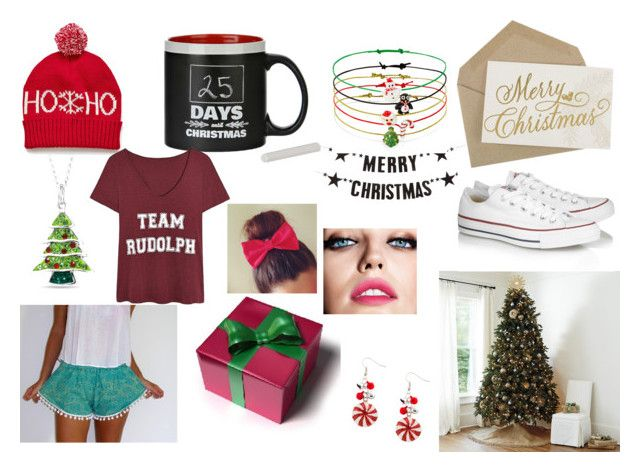 """Christmas !!!!!!!!!"" by cazz-536 ❤ liked on Polyvore featuring Ballard Designs, Bloomingville, Converse, Accessorize, Belk Silverworks, Maybelline, women's clothing, women's fashion, women and female"
