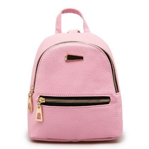 d1e0b61c4f28 Herald Fashion Small Rucksack Women Shopping Purse Ladies Joker Bookbag  Travel Bag Student School Backpacks Mini Women Backpack