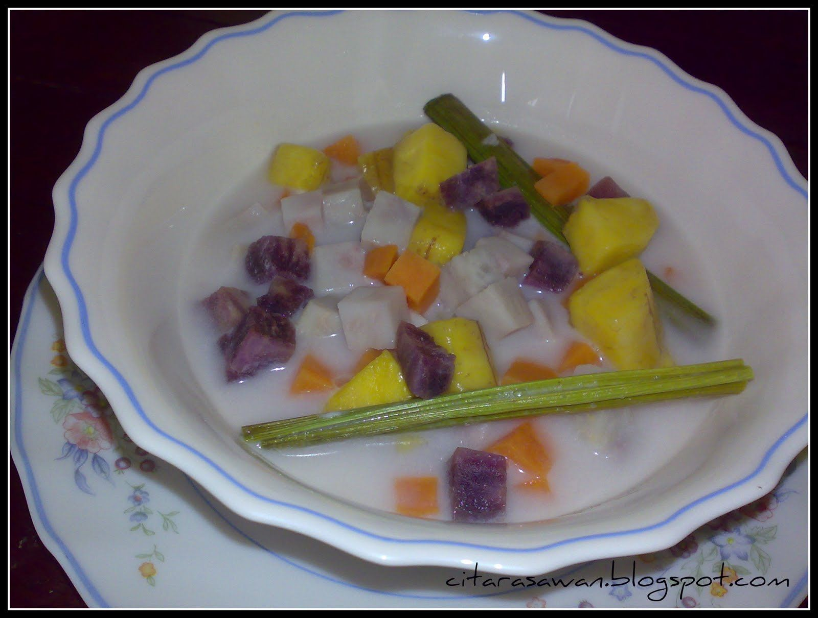 Bubur Cha Cha Resipi Citarasawan