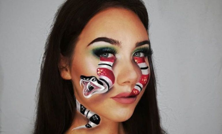 Halloween Makeup Illusions Sfx Beauty Looks Costume Tutorials Makeup Hooded Eye Makeup Eye Makeup