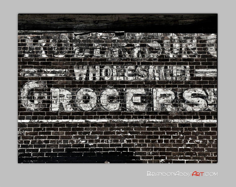 Urban Kitchen Wall Decor, Retro Advertising Art, Vintage Kitchen Art, Black  And White