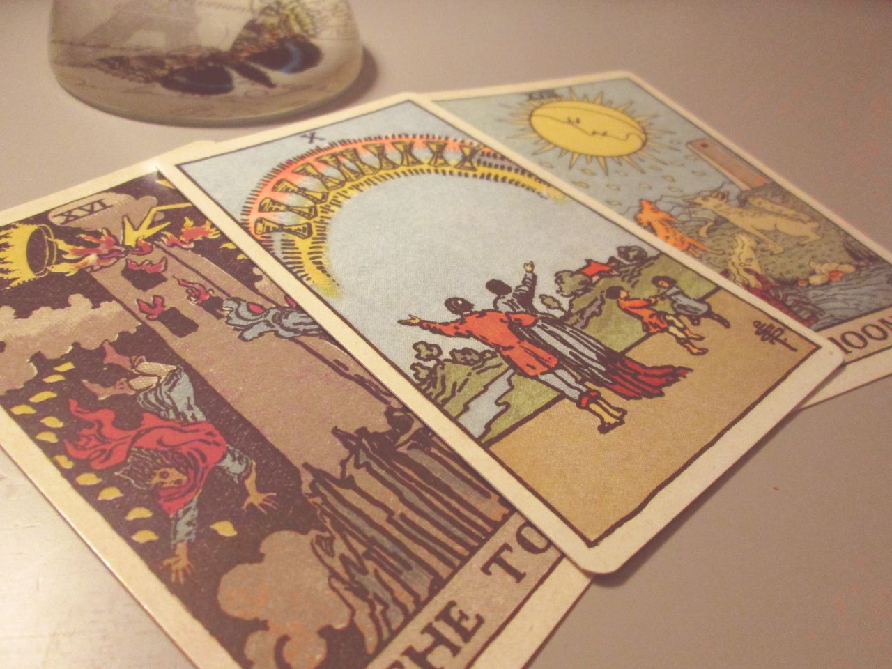Satiety short story and meaning for the ten of cups